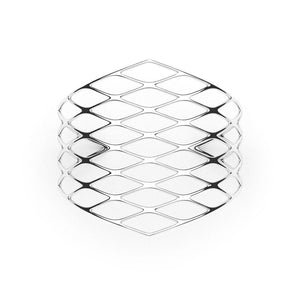 La manchette GRID | VOGUE | Platine sterling
