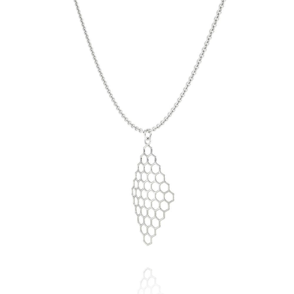 The HIVE Necklace | VOGUE | Platinum Sterling