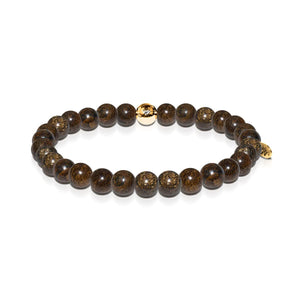 Self-Esteem | Gold Essence Bronzite Bracelet