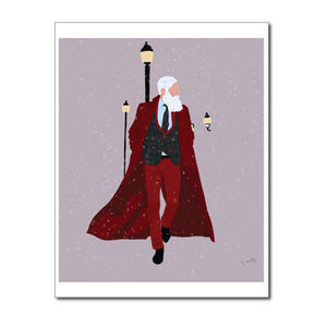 NOGU x Fashion Santa Holiday Card 1