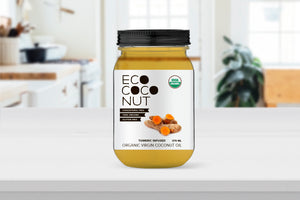 Infused Organic Virgin Coconut Oil [Turmeric]