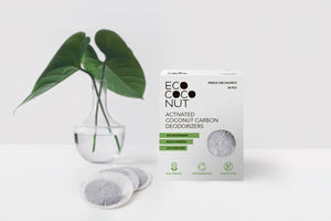 Activated Coconut Carbon Deodorizers (30 Sachets)