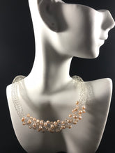 Stunning fresh water pearl necklace
