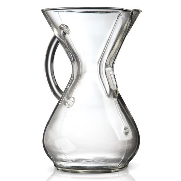 Brewers - 6 Cup Glass Handle