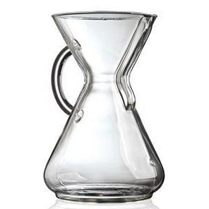 10 Cup Glass Handle