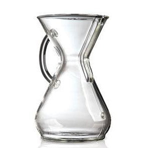 8 Cup Glass Handle