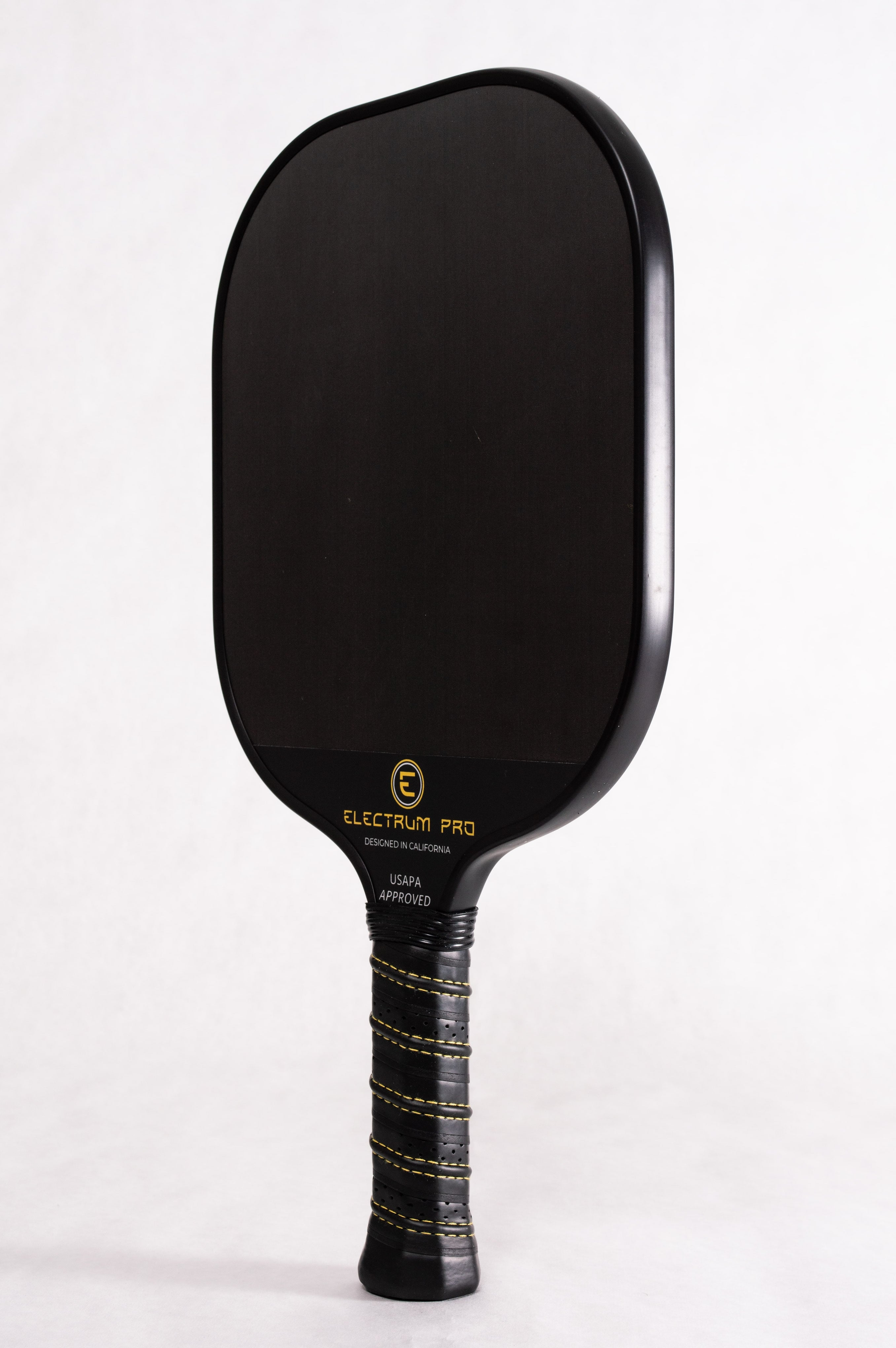 Electrum Pro Pickleball Paddle from a Profile Perspective