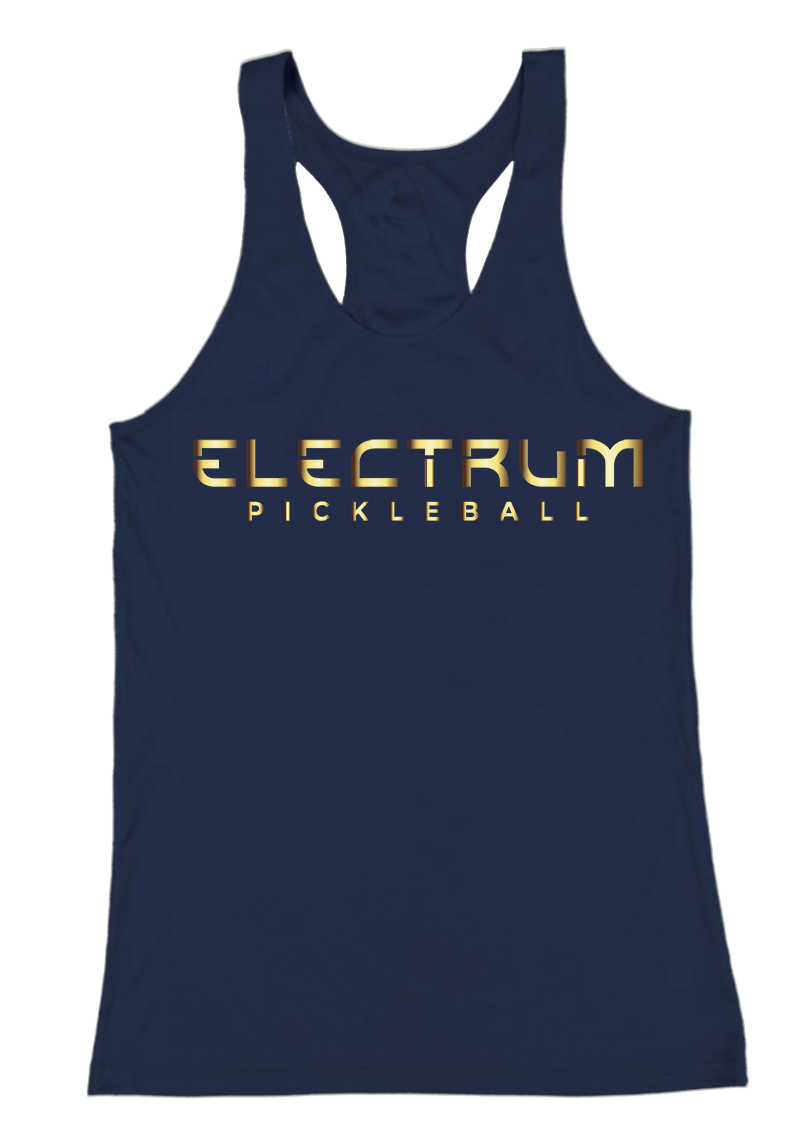 Women's Dri-Fit Racerback Tank - Navy