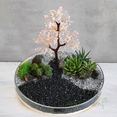 Cherry Blossom Crystal Garden (Large)