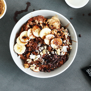 Chocolate & Coconut Porridge