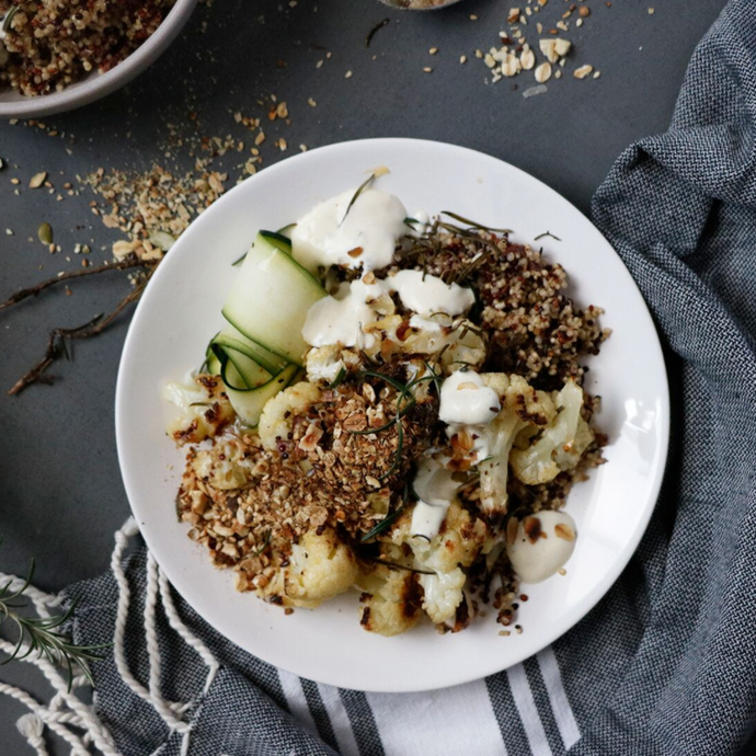 Roast Cauliflower & Quinoa Salad