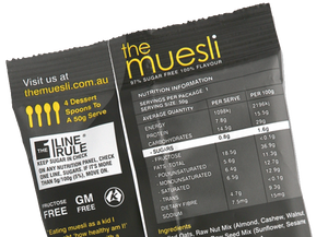 The Muesli Mix - 2 x 50g Portions