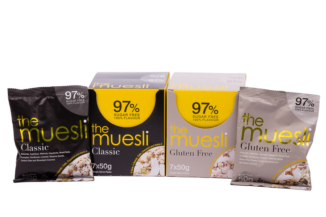 The Muesli Mix - 2 x Multi Pack
