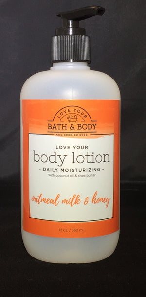 Oatmeal milk and honey Daily Body Lotion