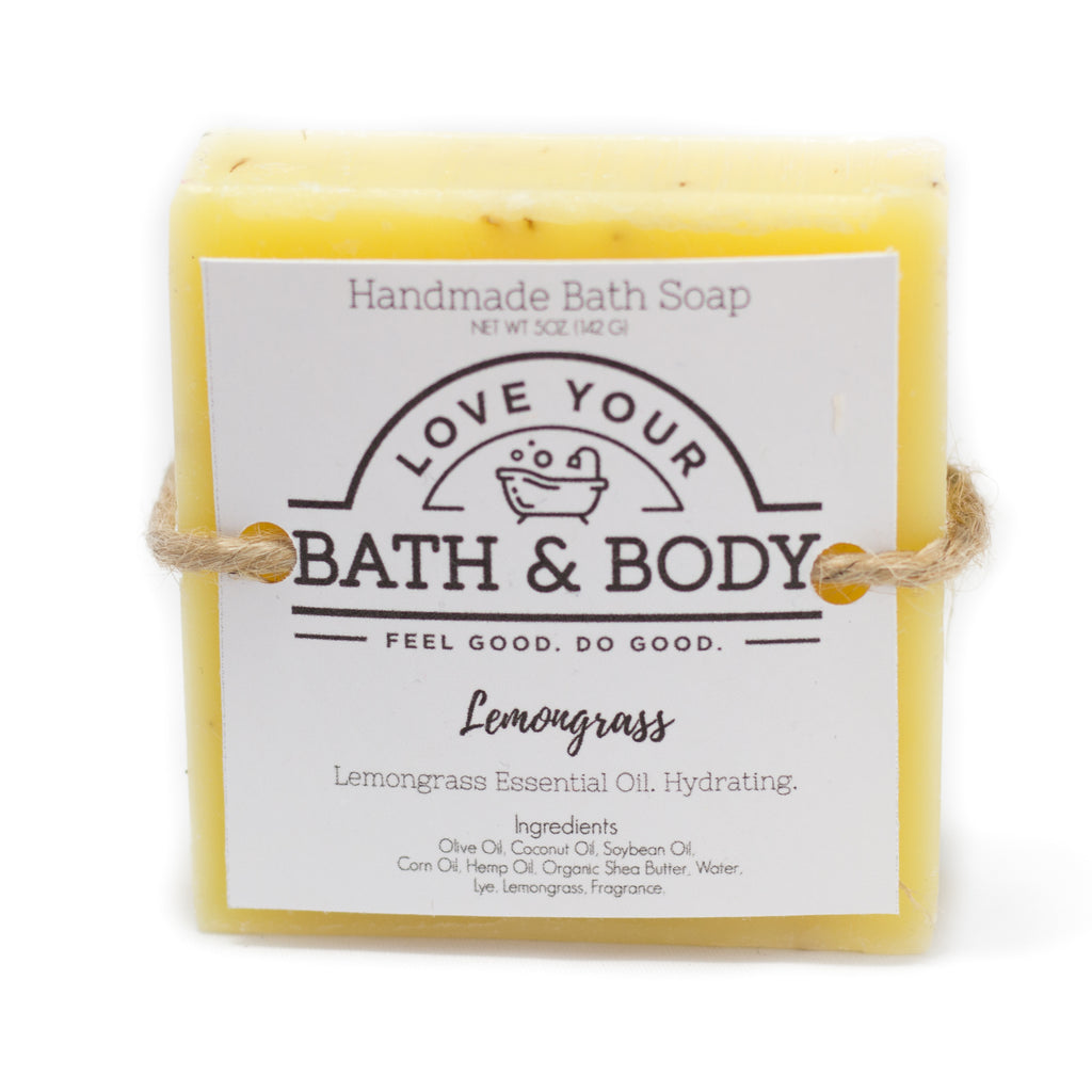 Lemongrass Hand & Body Soap