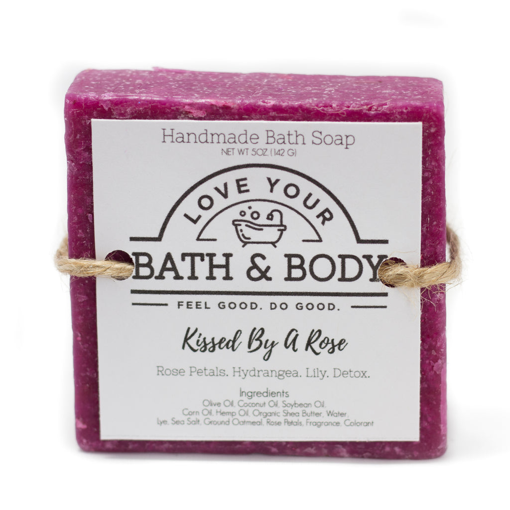 Kissed By A Rose Soap