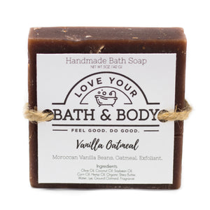 Vanilla Oatmeal Hand & Body Soap