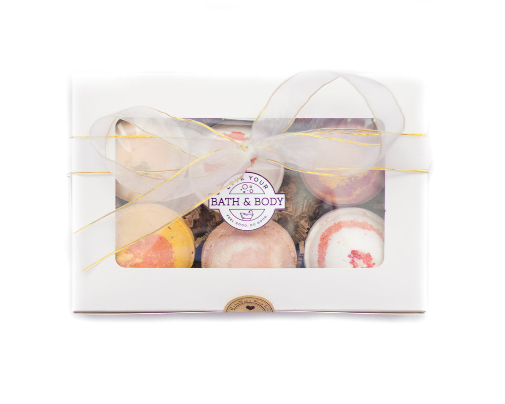 6 Pack Bath Bomb Gift Set
