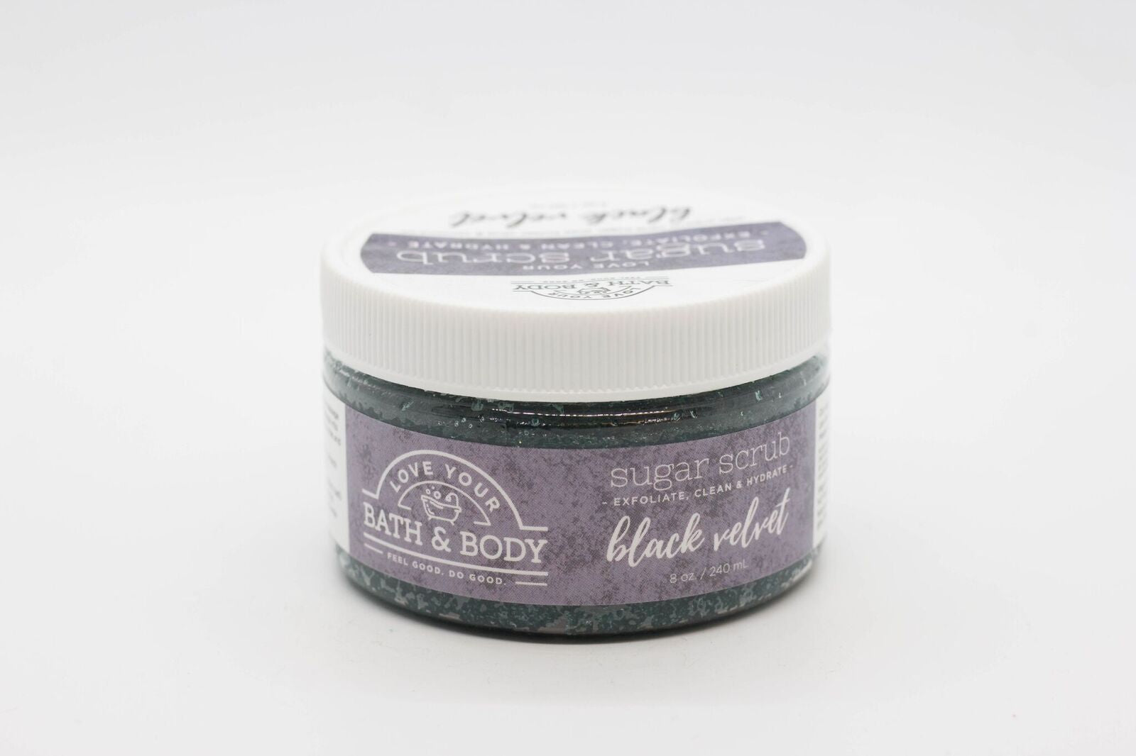 Black Velvet Sugar Scrub 4 oz.