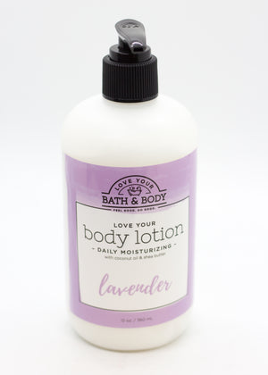 Lavender- Natural Daily Body Lotion