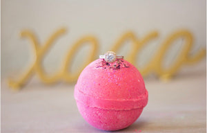 """Love"" Ring Bath Bombs"