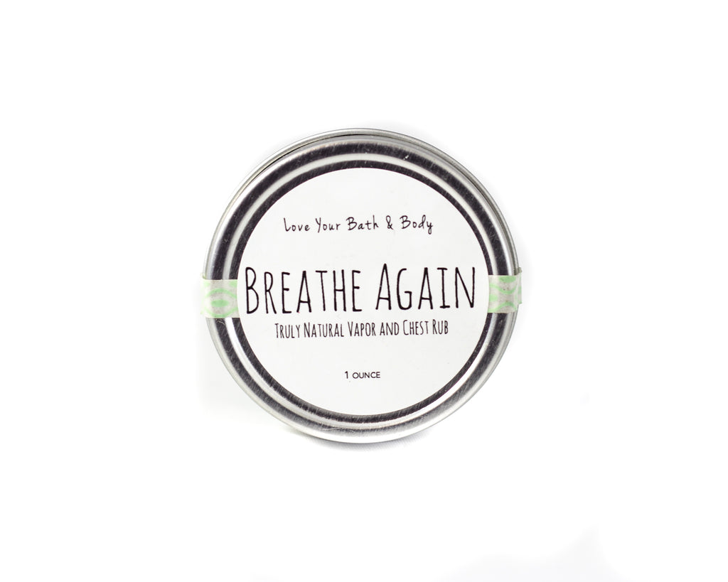 Breathe Again Vapor Rub, Herbal Chest Rub