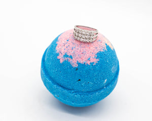 Kissed By A Rose- Ring Bath Bombs
