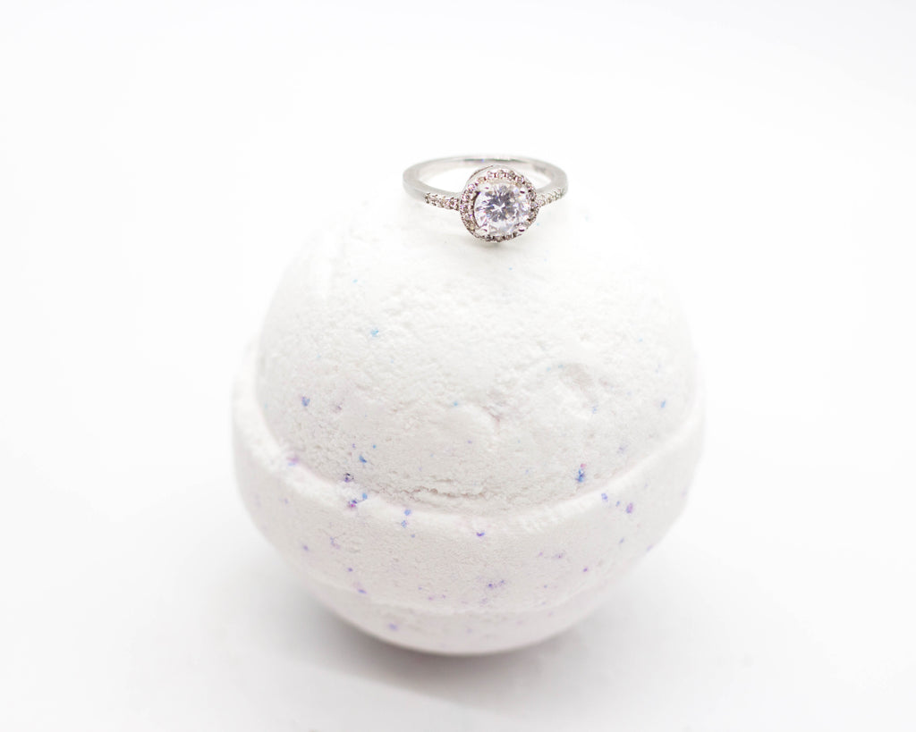 Lavender Ring Bath Bombs