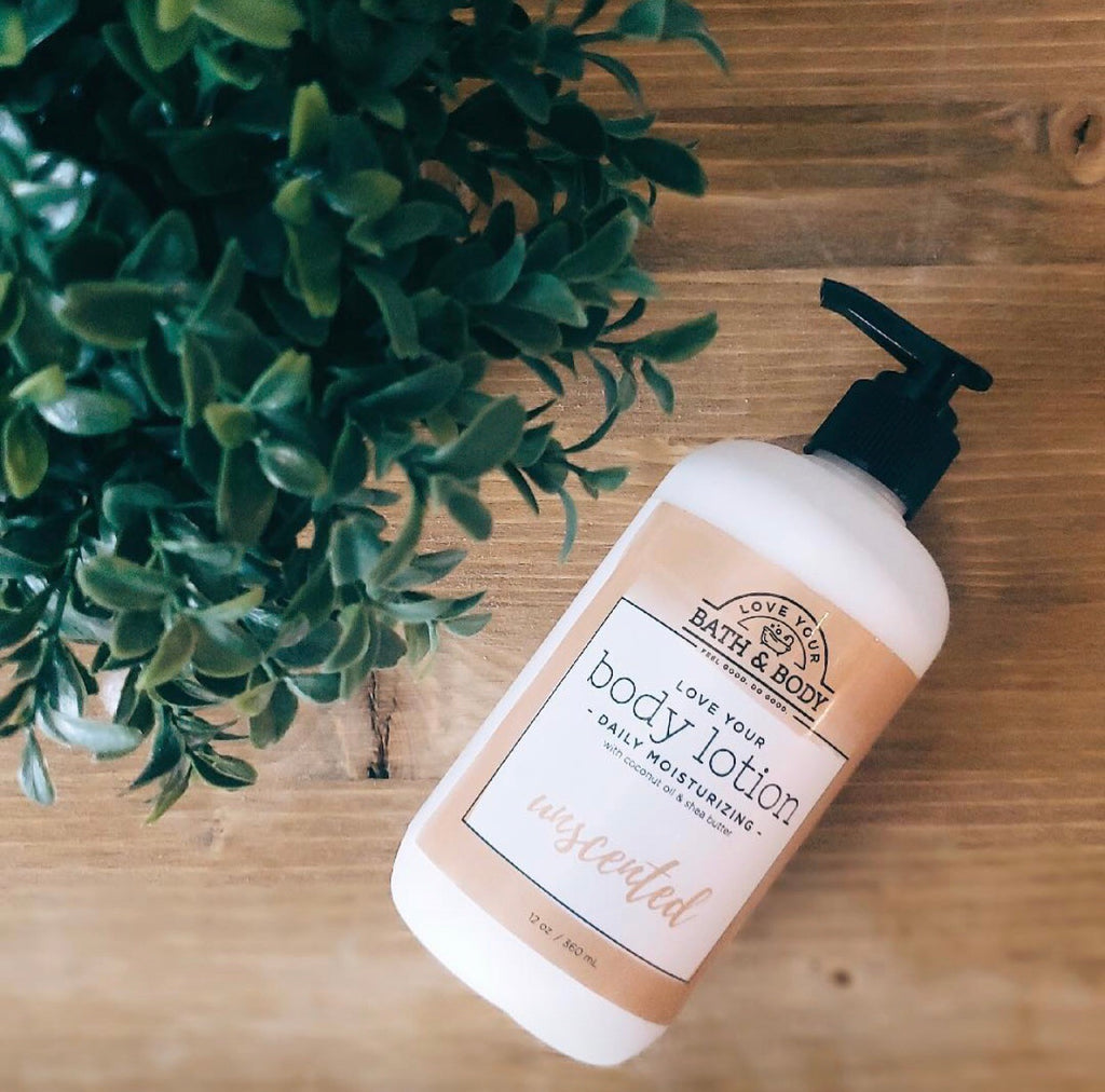 Unscented Daily Body Lotion