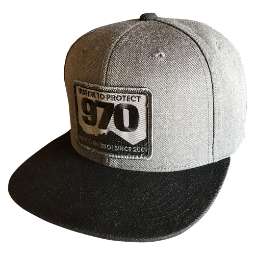 970 Mtn High - Black/Gray