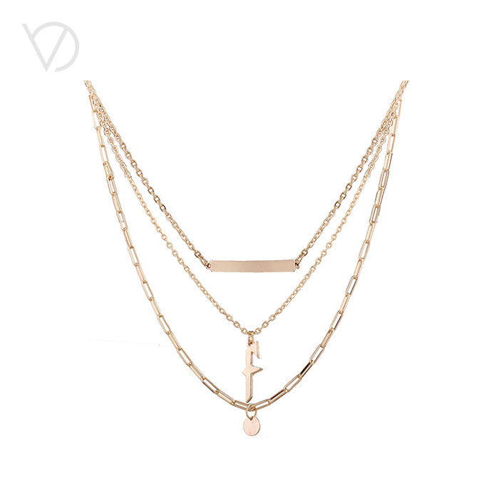 Gold Shiny Necklace Sets