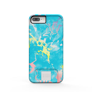MIЯЯAMIЯЯA mirror case Blue Marble Holo iPhone 7/8 Plus,Phone case - MirraMirra