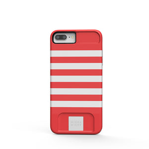 MIЯЯAMIЯЯA mirror Case Designer Red iPhone 7/8 Plus Phone case - MirraMirra