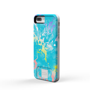 MIЯЯAMIЯЯA mirror case Blue Marble Holo iPhone 7/8 Plus Phone case - MirraMirra