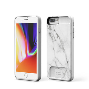 MIЯЯAMIЯЯA mirror Case White Marble  iPhone 7/8 Plus Phone case - MirraMirra
