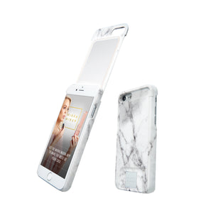 MIЯЯAMIЯЯA mirror iPhone case marble iPhone 7/8 Phone case - MirraMirra