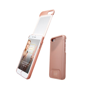 MIЯЯAMIЯЯA mirror iPhone case rose gold iPhone 7/8 Phone case - MirraMirra
