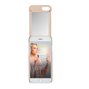 MIЯЯAMIЯЯA mirror iPhone case Gold iPhone 7/8 Phone case - MirraMirra