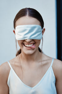 Silk Sleep Mask, Iceberg