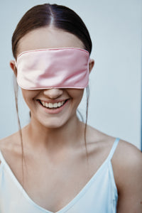 Silk Sleep Mask, Rose