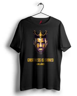 Greatness is Earned, Lebron James Tshirt