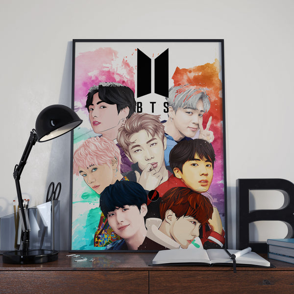 BTS - Group Poster | KPOP