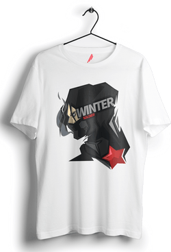 Winter Solidier Herohead Tshirt