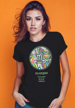Scorpio Zodiac Traits Tshirt