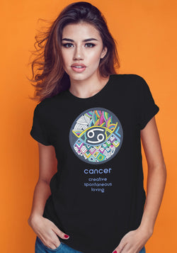 Cancer Zodiac Traits Tshirt