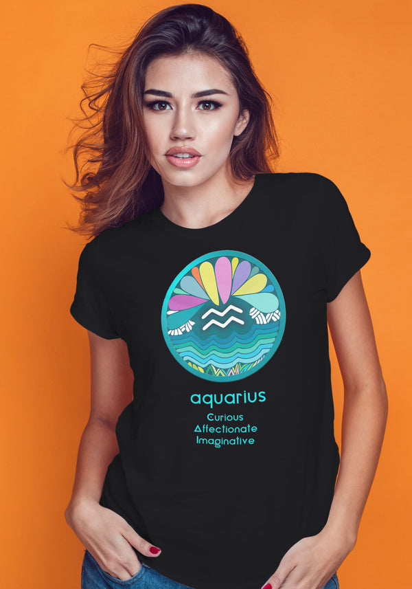 Aquarius Zodiac Traits Tshirt