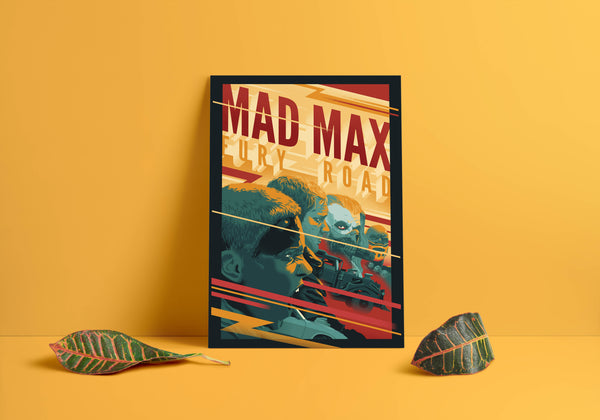 Mad Max Illustration Poster