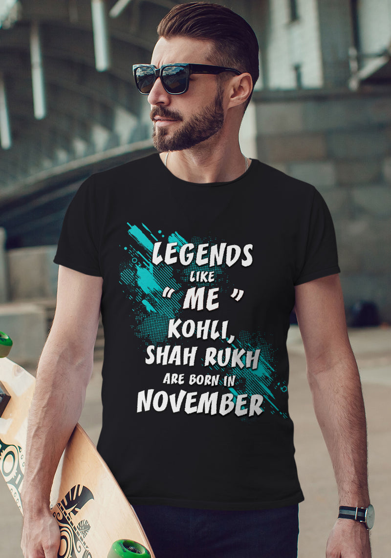 "Legends Like ""Me"" Kohli, Shah Rukh are born in November"