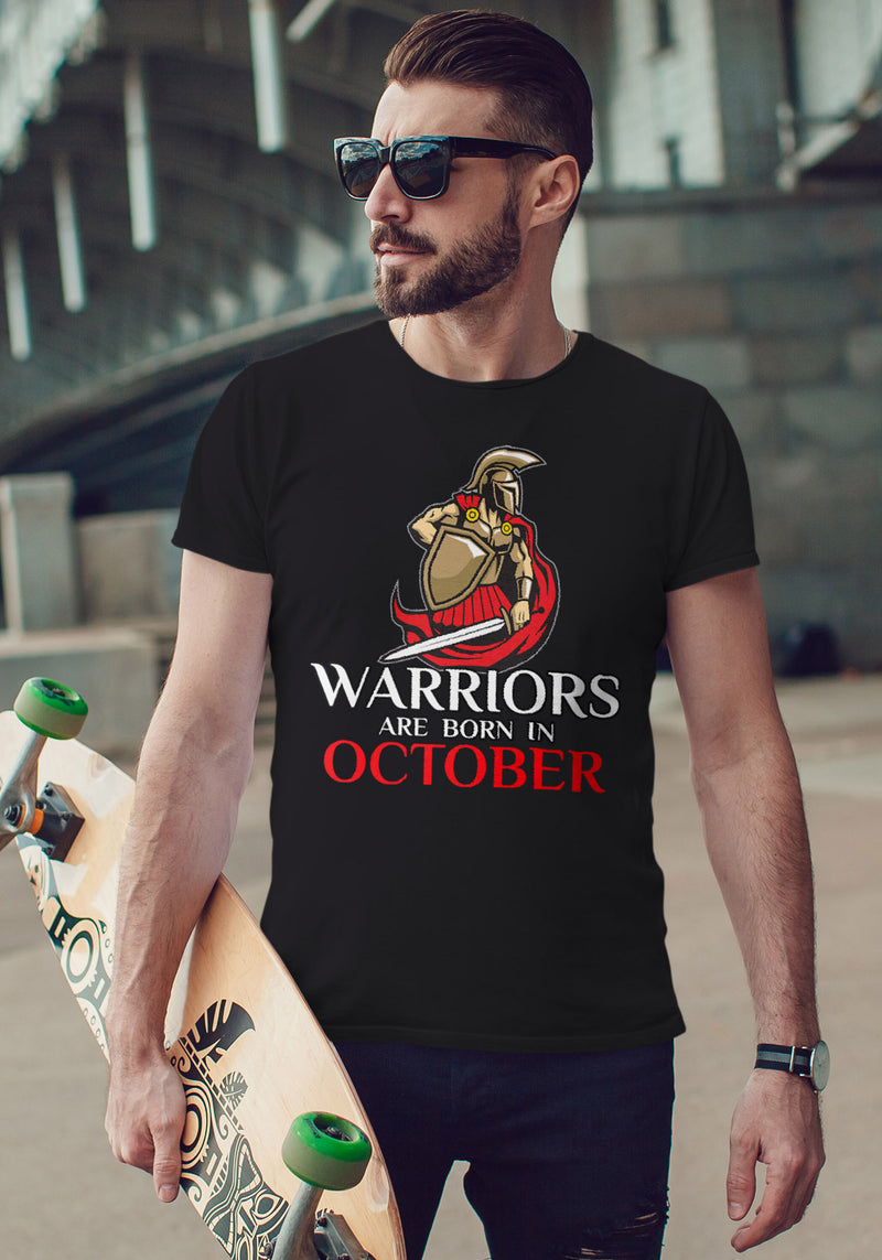Warriors Are Born in October