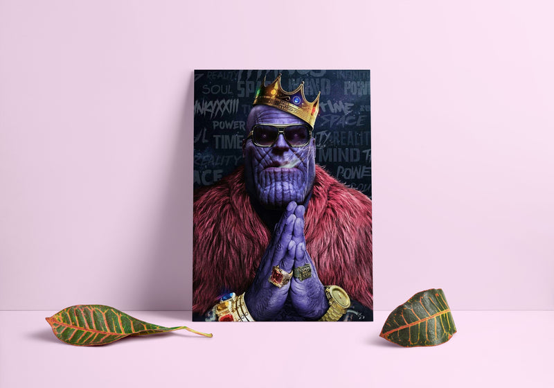 Thanos Biggie Smalls Poster